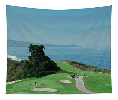 Golf Course At The Coast, Torrey Pines Tapestry