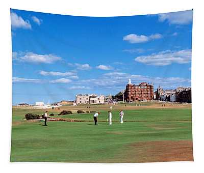 Golf Course, St Andrews, Scotland Tapestry