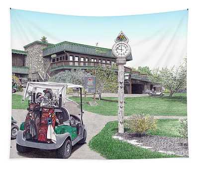 Golf Seven Springs Mountain Resort Tapestry