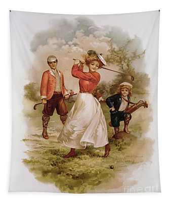 Golfing Tapestry