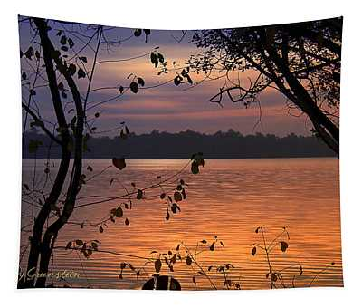 Goodnight Lake Tapestry