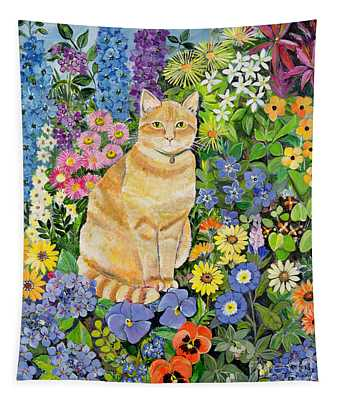 Gordon S Cat Tapestry