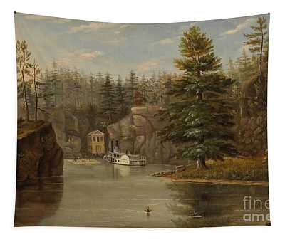 Gorge Of The St Croix Tapestry