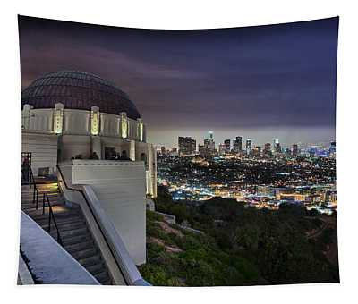 Gotham Griffith Observatory Tapestry