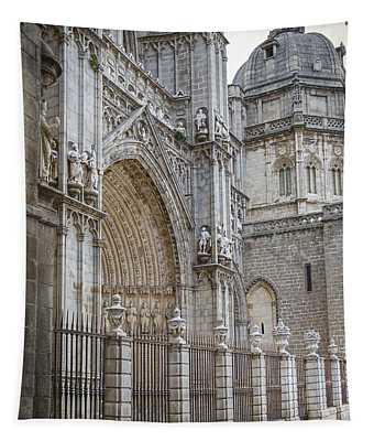 Gothic Splendor Of Spain Tapestry