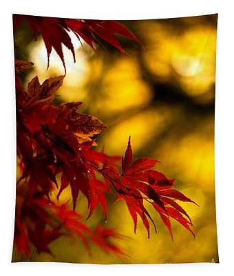 Graceful Leaves Tapestry