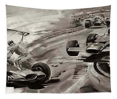 Grand Prix Problems Tapestry