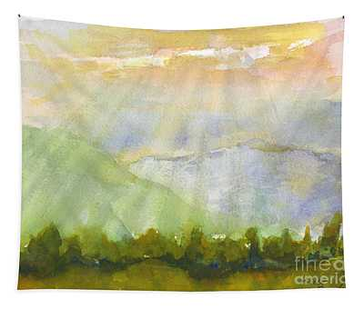 Grandma Cohen Rays Tapestry
