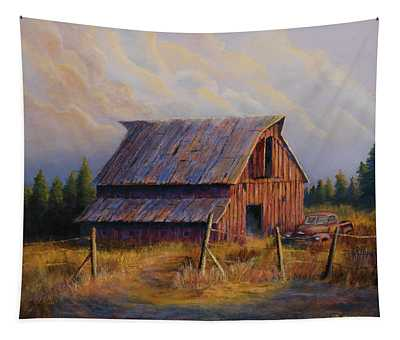Old Chevy Truck Wall Tapestries