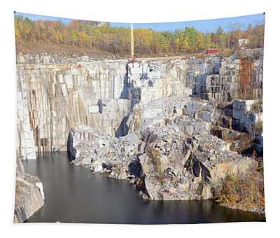 Granite Quarry, Barre, Vermont Tapestry