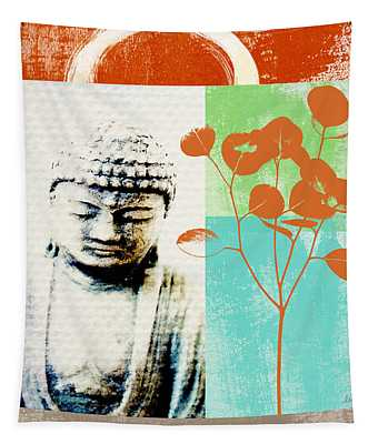 Gratitude Card- Zen Buddha Tapestry