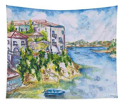 Greek Playground  Tapestry