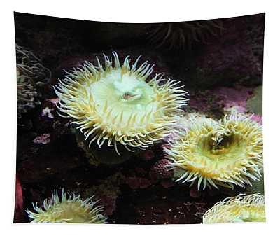 Green Anemone 5d24898 Tapestry