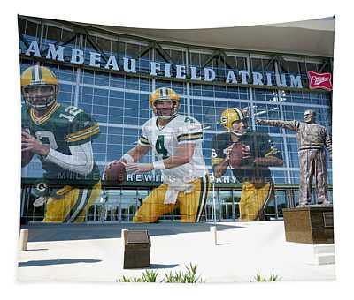 Green Bay Packers Lambeau Field Tapestry
