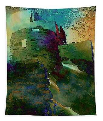 Green Castle Tapestry