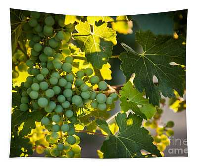 Green Grapes Tapestry