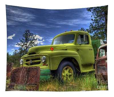 Green International Tapestry