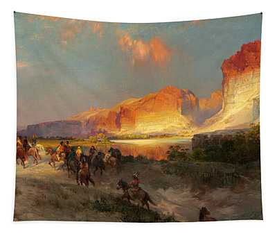 Green River Cliffs Wyoming Tapestry