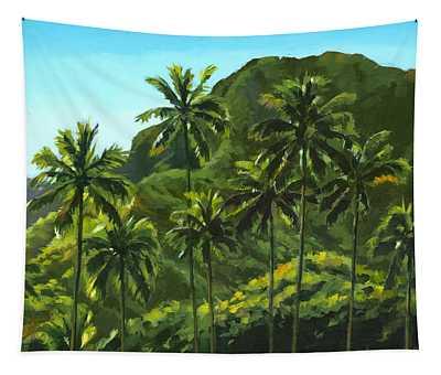 Greens Of Kahana Tapestry