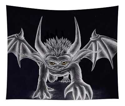 Grevil Silvered Tapestry
