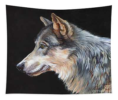 Grey Wolf Tapestry