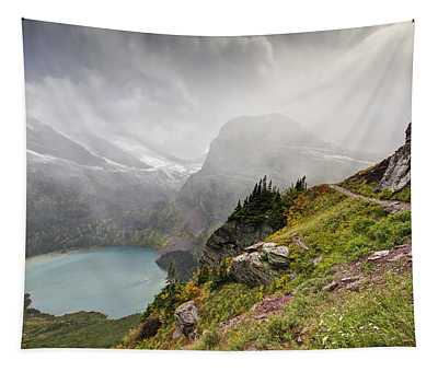 Grinnell Glacier Trail Tapestry