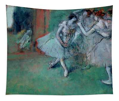 Group Of Dancers Tapestry