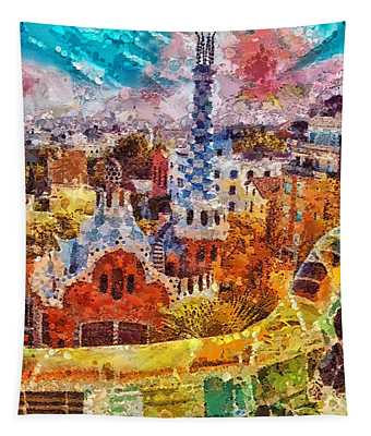 Guell Park Tapestry