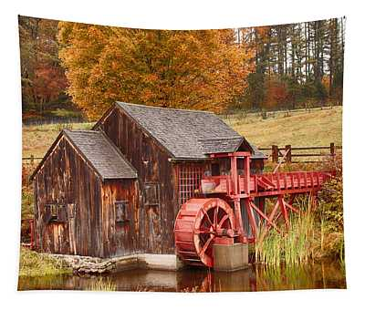 Guildhall Grist Mill Tapestry
