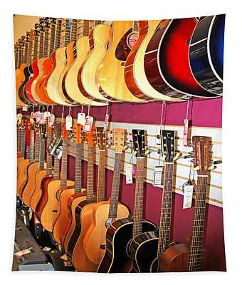Guitars For Sale Tapestry