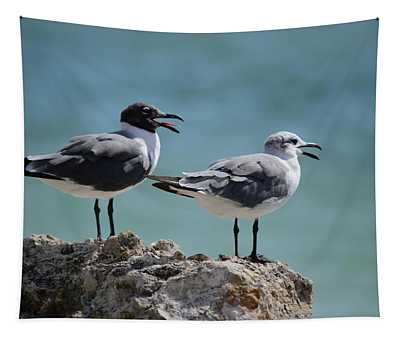 Gull Talk Tapestry