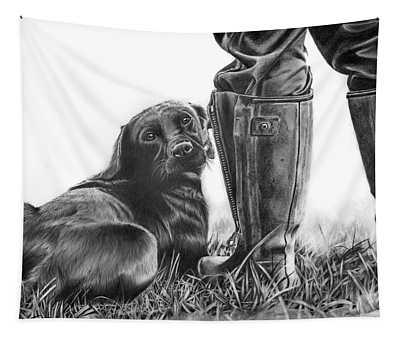 Gun Dog Tapestry