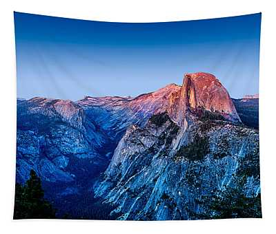 Half Dome Twilight Tapestry