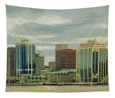 Halifax From The Harbour Tapestry