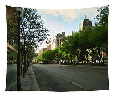 Tapestry featuring the photograph Hamilton At Dawn by Shawn Dall