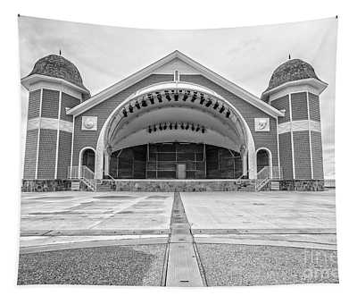 Hampton Beach Bandstand Stage Tapestry