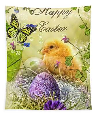 Happy Easter Tapestry