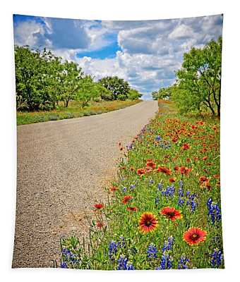 Happy Road Tapestry