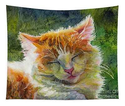 Happy Sunbathing 2 Tapestry