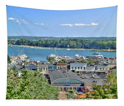 Harbor Springs Michigan Tapestry
