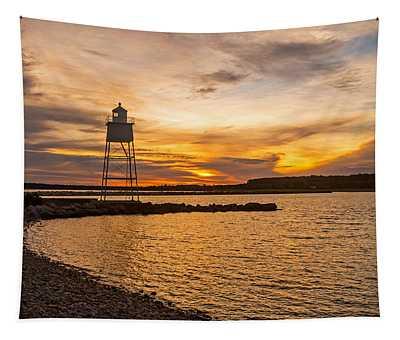 Harbor Sunrise Tapestry