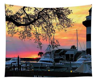Harbour Town Sundown Tapestry