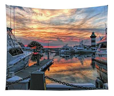 Harbour Town Yacht Basin Tapestry