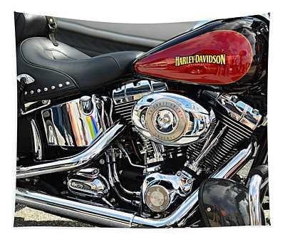 Harley Chrome Tapestry
