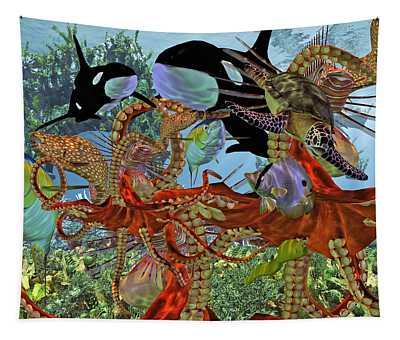 Harmony Under The Sea Tapestry