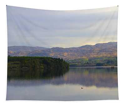Harveys Point On Lough Eske Panorama Tapestry