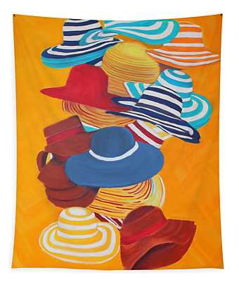Hats Off Tapestry