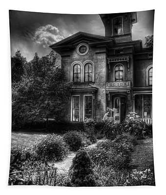 Haunted - Haunted House Tapestry