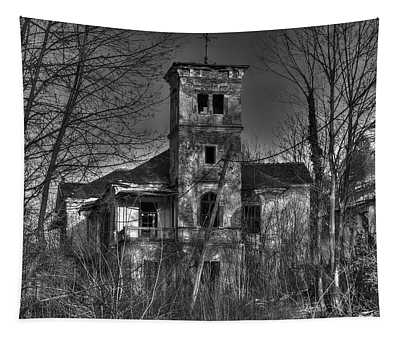 Haunted House Tapestry