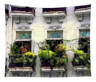 Havana Windows Tapestry